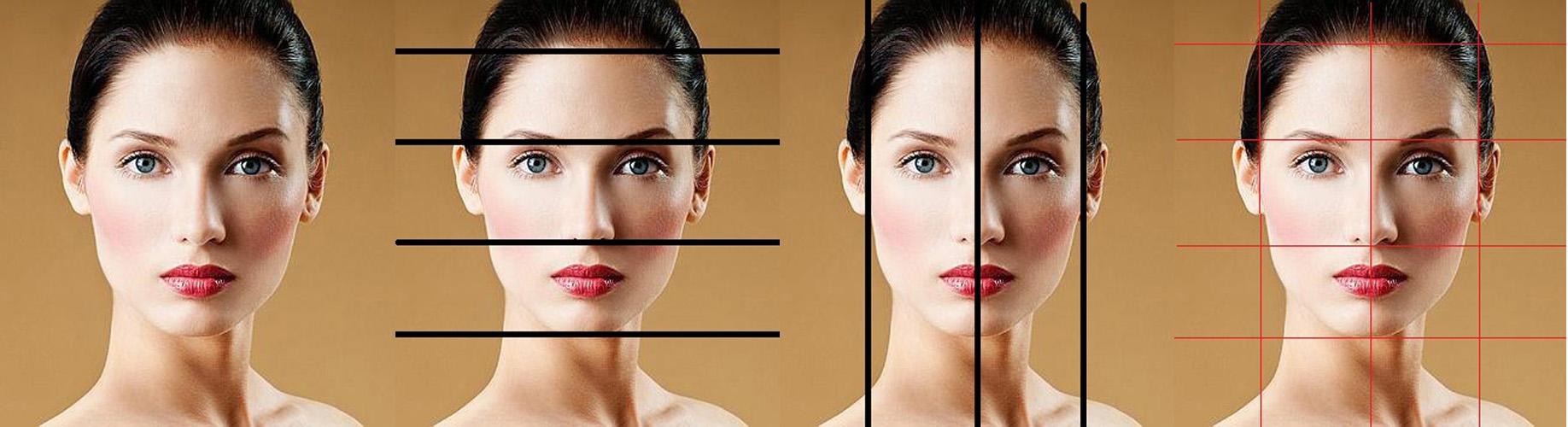 Líneas que dibujan el rostro