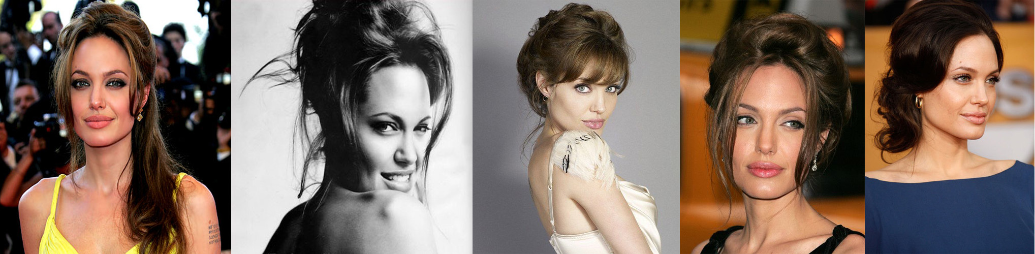 Rostro cuadrado Angelina Jolie